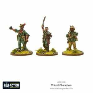 Chindit Characters