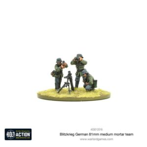 Blitzkrieg German medium mortar team (1939-42)