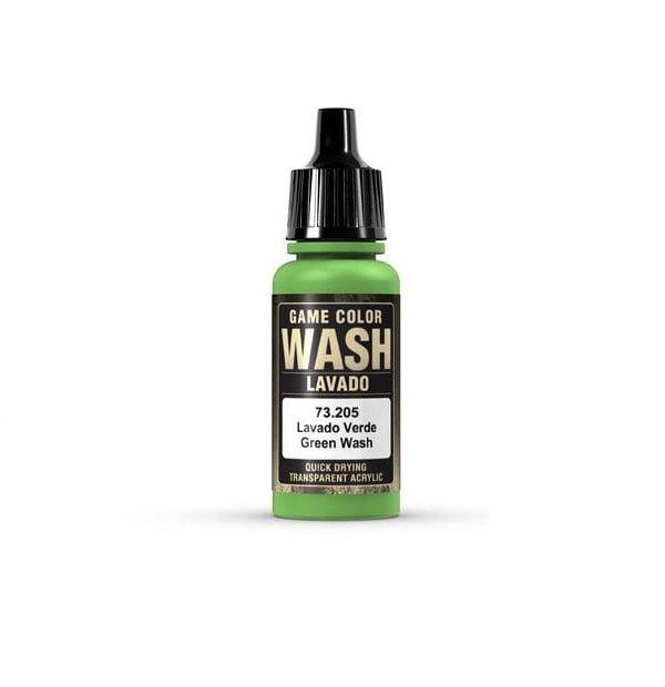 Val205 Green Shade Wash