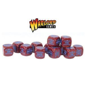 Maroon Order Dice pack