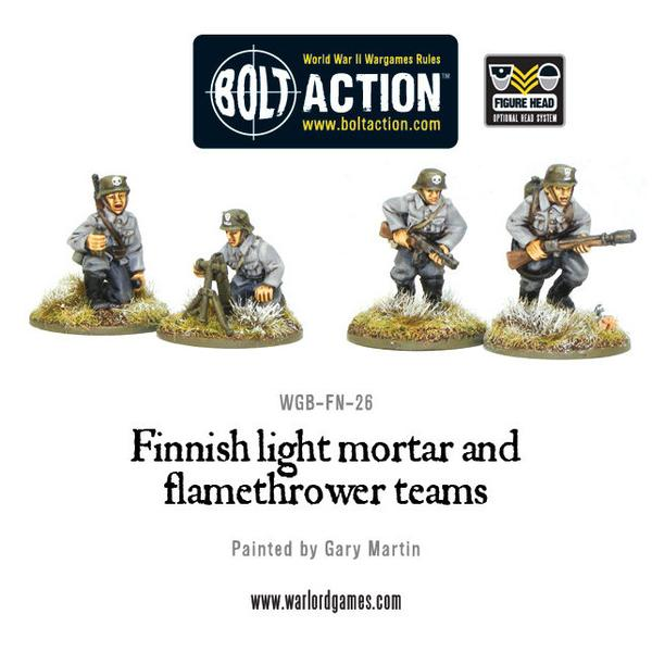 Finnish Light Mortar and Flamethrower Teams