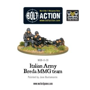 Italian Army Breda MMG
