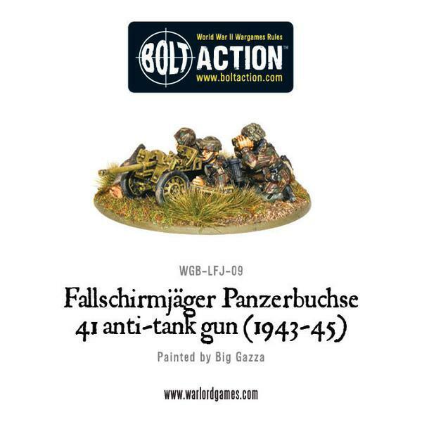 Fallschirmjager Panzerbüchse 41 Anti-Tank Gun (1943-45)