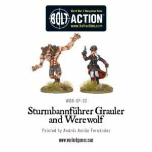 Wulfen-SS: Sturmbannführer Grauler and Werewolf