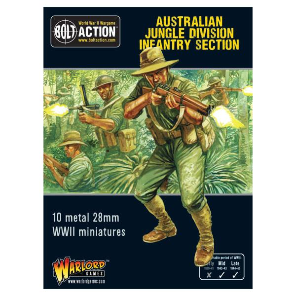 Australian Jungle Division infantry section (Pacific)