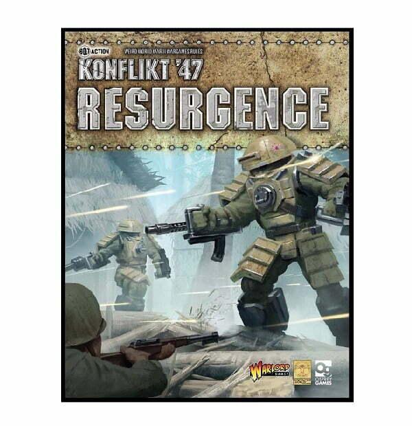 Konflikt 47 Resurgence Book