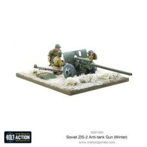 Soviet ZIS-2 anti-tank gun (Winter)