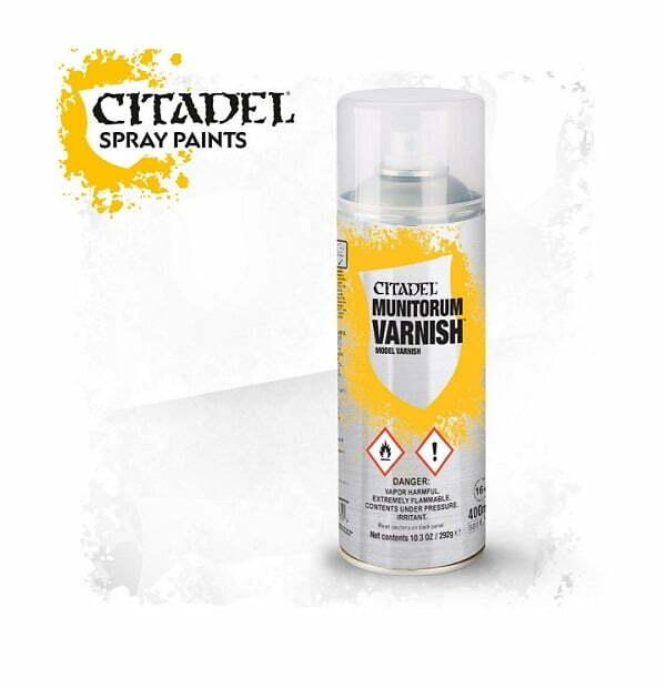 Munitorum Varnish Spray