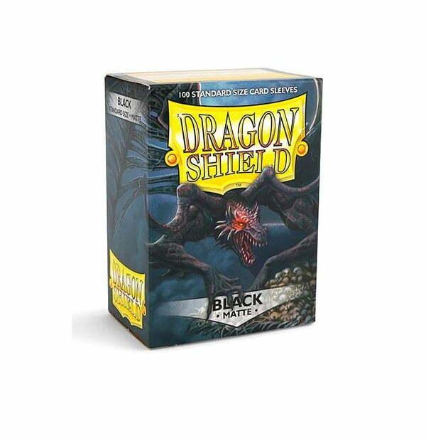 Dragon Shield Sleeves Matte Black