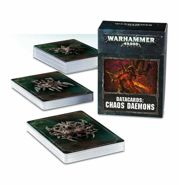 Chaos Daemons Datacards