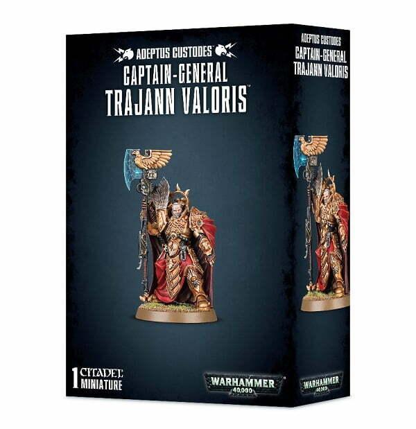 Captain-General Trajann Valoris