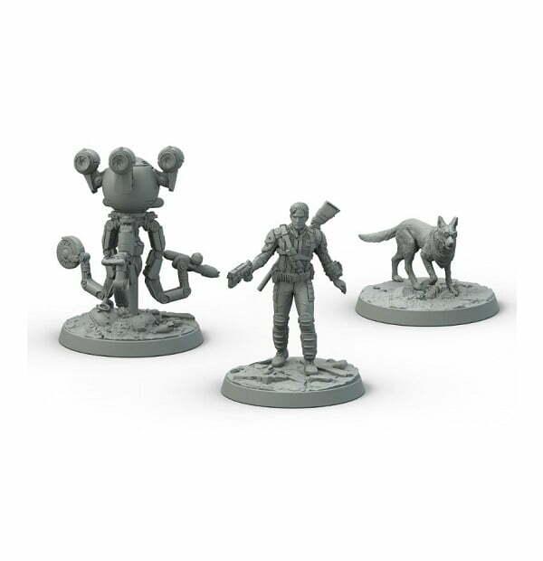Fallout: Wasteland Warfare- Survivors: Heroes of Sanctuary Hills