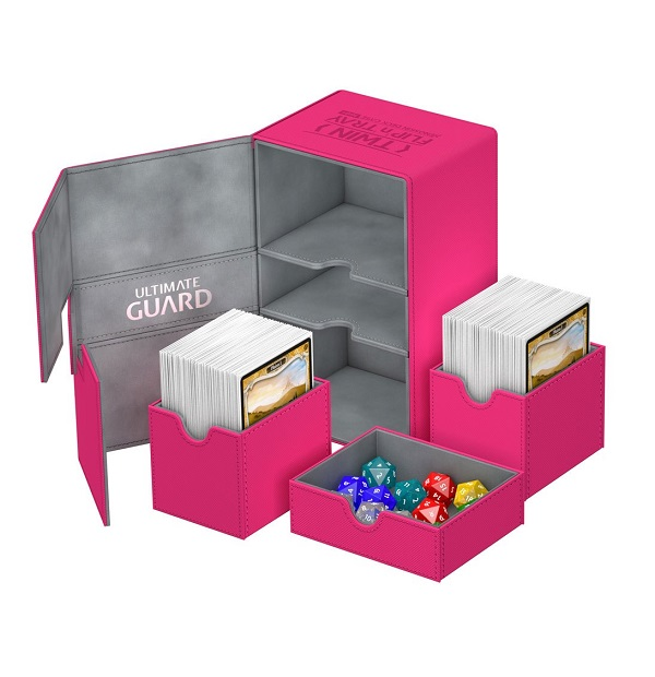 Ultimate Guard Twin Flip´n´Tray Deck Case 160+ Pink