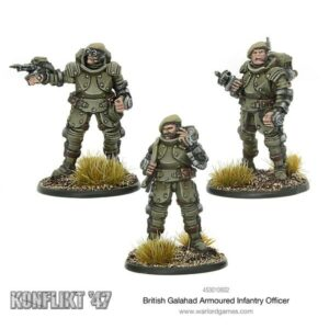 British Galahad Armoured Infantry Officers