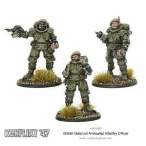 British Galahad Armoured Infantry Officers