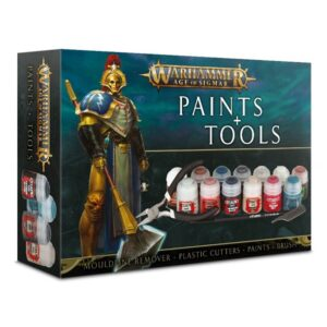 Warhammer Age of Sigmar Paints & Tools Set