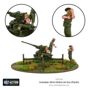 Australian 40mm Bofors AA gun (Pacific)