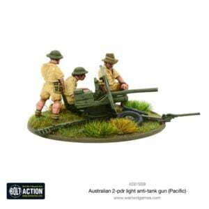 Australian 2-pdr light anti-tank gun (Pacific)