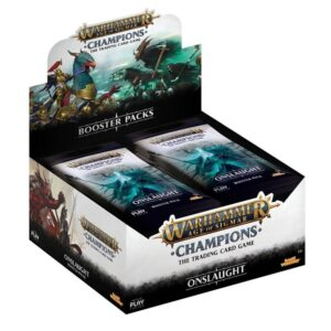 Warhammer Age of Sigmar: Champions: Onslaught Booster Box