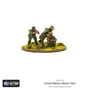 Chindit Medium Mortar team