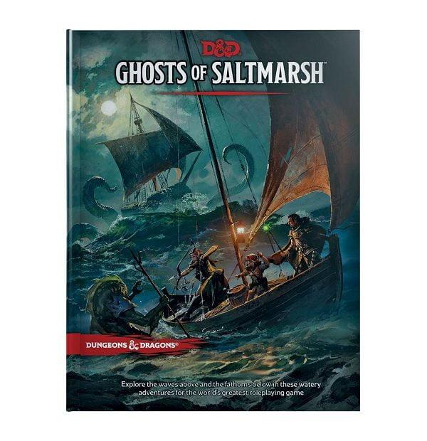 Dungeons & Dragons: RPG Adventure Ghosts of Saltmarsh