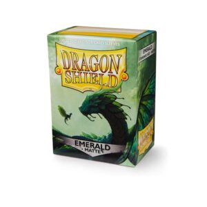 Dragon Shield Matte Sleeves Emerald 100