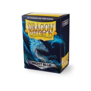 Dragon Shield Matte Sleeves Night Blue 100