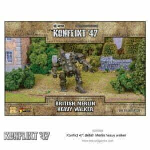 Konflikt 47: British Merlin heavy walker