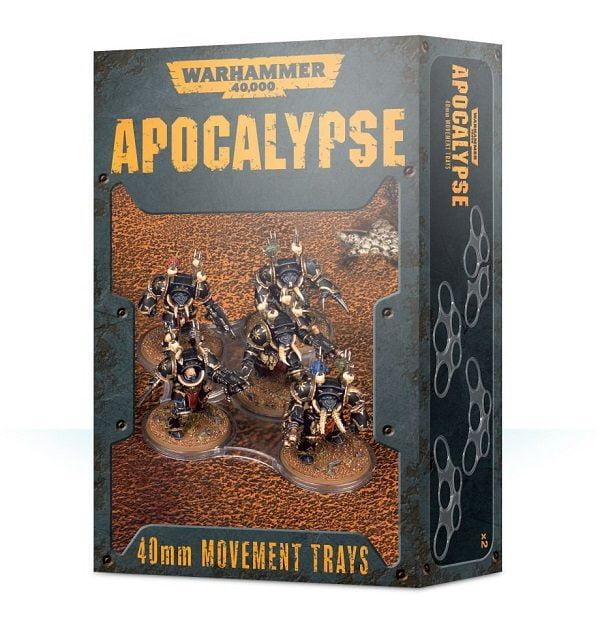 Apocalypse 40mm Movement Trays