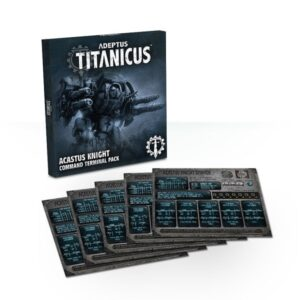 Acastus Knight Command Terminal Pack