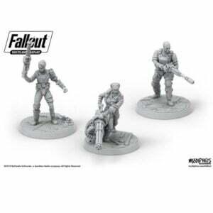 Fallout: Wasteland Warfare- Ack Ack, Sinjin & Avery