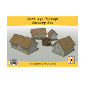 Dark Age Village Scenery Set