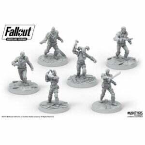 Fallout: Wasteland Warfare- Raiders, Scavvers & Psychos