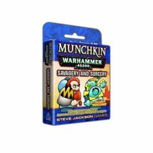 Munchkin: Warhammer 40,000: Savage and Sorcery