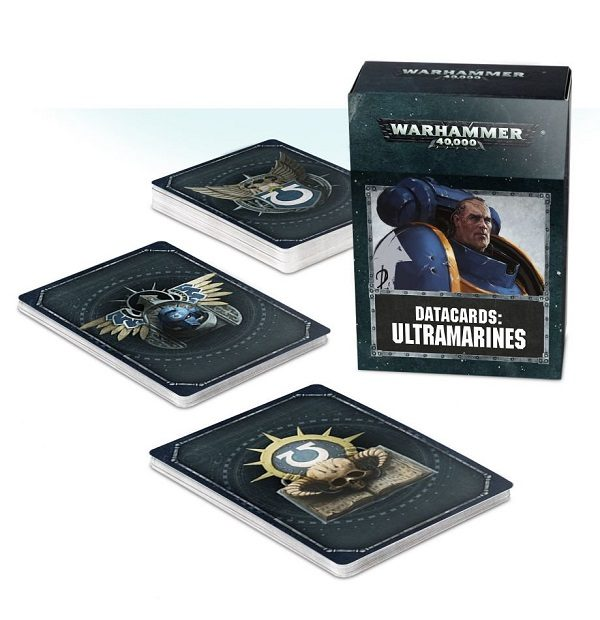 Ultramarines Datacards