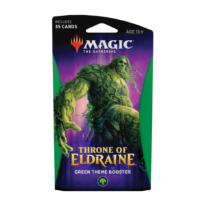 Magic the Gathering: Throne of Eldraine Green Theme Booster