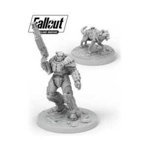 Fallout: Wasteland Warfare - X-01 Survivor and Dogmeat