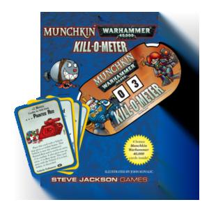 Munchkin: Warhammer 40,000: Kill-O-Meter