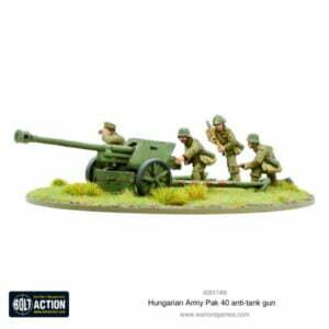 Hungarian Army Pak 40 anti-tank gun