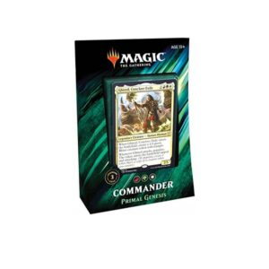 Magic the Gathering: Primal Genesis Commander 2019 Deck