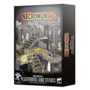 Necromunda Zone Mortalis Platforms and Stairs