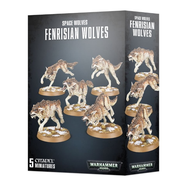 Space Wolves Fenrisian Wolves