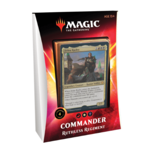 Magic the Gathering: Ruthless Regiment Commander 2020 Deck
