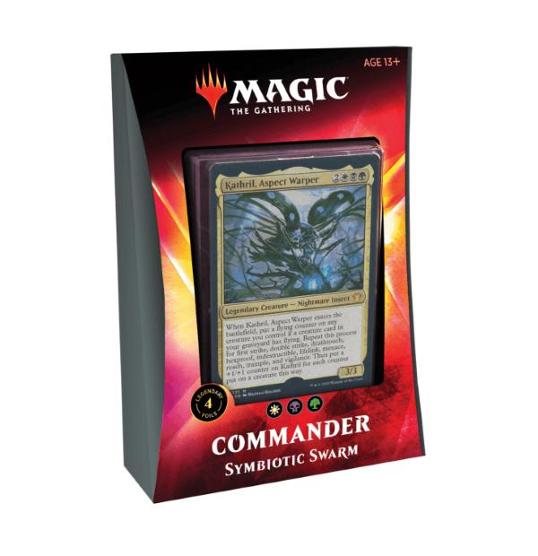 Magic the Gathering: Symbiotic Swarm Commander 2020 Deck