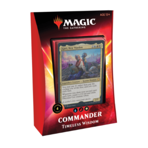 Magic the Gathering: Timeless Wisdom Commander 2020 Deck