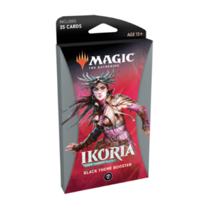 Magic the Gathering: Ikoria: Lair of Behemoths Black Themed Booster