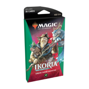 Magic the Gathering: Ikoria: Lair of Behemoths Green Themed Booster