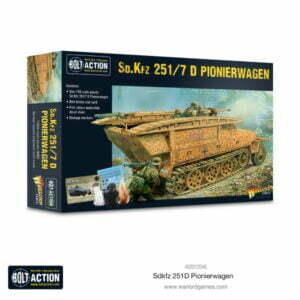 Sd.Kfz 251/7 D Pionierwagen