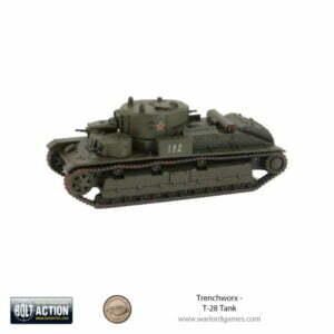 Trenchworx T-28 Tank, 28mm (1/56)