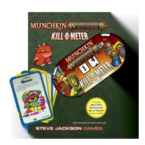 Munchkin: Warhammer Age of Sigmar Kill-O-Meter